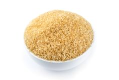 Καφετιά ζάχαρη, ζαχαροκάλαμο Στοκ εικόνα με δικαίωμα ελεύθερης χρήσης