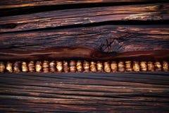 Καφετιά καπνισμένη ξύλινη σύσταση αφηρημένη ανασκόπηση Στοκ φωτογραφίες με δικαίωμα ελεύθερης χρήσης
