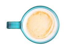 Καφετιά κούπα καφέ Στοκ φωτογραφία με δικαίωμα ελεύθερης χρήσης