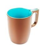 Καφετιά κούπα καφέ Στοκ Εικόνα