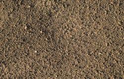 Καφετιά μακρο σύσταση γης και αμμοχάλικου Στοκ φωτογραφία με δικαίωμα ελεύθερης χρήσης