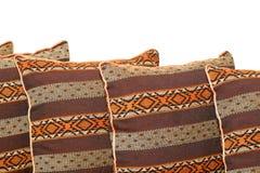 καφετιά μαξιλάρια Στοκ Φωτογραφία