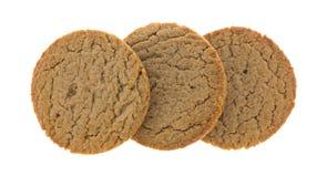 Καφετιά μπισκότα ζάχαρης και κανέλας Στοκ φωτογραφίες με δικαίωμα ελεύθερης χρήσης