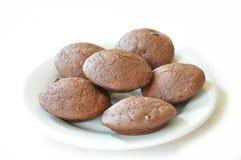 Καφετιά μπισκότα Στοκ Φωτογραφίες