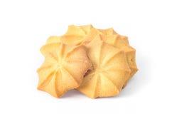 Καφετιά μπισκότα Στοκ εικόνα με δικαίωμα ελεύθερης χρήσης