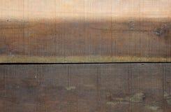 Καφετιά ξύλινη σύσταση σχεδίων Υλικό εκλεκτής ποιότητας ύφος Στοκ Εικόνα