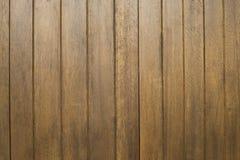 Καφετιά ξύλινα πάτωμα ή υπόβαθρα και σύσταση τοίχων Στοκ Φωτογραφίες