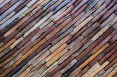 Καφετιά ξύλινη σύσταση τοίχων Υπόβαθρο Στοκ φωτογραφία με δικαίωμα ελεύθερης χρήσης
