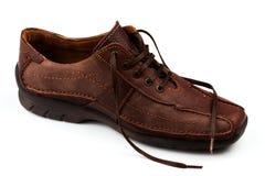 καφετιά παπούτσια ατόμων s δ Στοκ φωτογραφία με δικαίωμα ελεύθερης χρήσης
