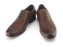 καφετιά παπούτσια Στοκ εικόνες με δικαίωμα ελεύθερης χρήσης