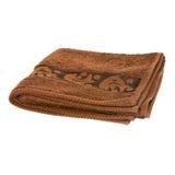 καφετιά πετσέτα Στοκ εικόνες με δικαίωμα ελεύθερης χρήσης
