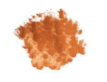 Καφετιά σταγόνα χρωμάτων Στοκ Φωτογραφίες