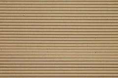 Καφετιά σύσταση ζαρωμένου χαρτονιού για το υπόβαθρο Στοκ εικόνες με δικαίωμα ελεύθερης χρήσης
