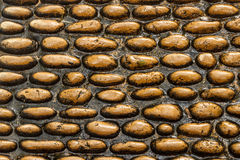 Καφετιά σύσταση πετρών Στοκ Εικόνες