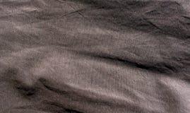 Καφετιά σύσταση υφάσματος βαμβακιού χρώματος Στοκ Φωτογραφίες