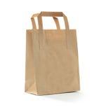 Καφετιά τσάντα Στοκ φωτογραφία με δικαίωμα ελεύθερης χρήσης