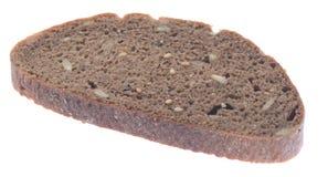 Καφετιά φέτα ψωμιού Στοκ φωτογραφία με δικαίωμα ελεύθερης χρήσης