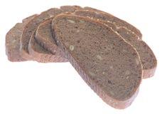 Καφετιά φέτα ψωμιού Στοκ Φωτογραφία