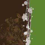 καφετιά φύλλα ανασκόπηση&sigm Στοκ Εικόνα