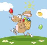 καφετιά bunny συμμετοχή κυνη&gam διανυσματική απεικόνιση