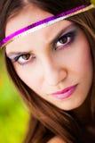 Καφετιά eyed ομορφιά στοκ εικόνα με δικαίωμα ελεύθερης χρήσης