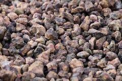Καφετιές πέτρες Στοκ Φωτογραφίες