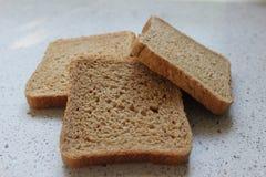 Καφετιές φέτες ψωμιού Στοκ φωτογραφίες με δικαίωμα ελεύθερης χρήσης