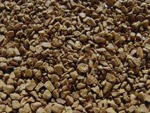 καφετιοί κόκκοι καφέ ανασκόπησης στιγμιαίοι πολλοί Υπόβαθρο διαλυτού καφέ Στοκ εικόνα με δικαίωμα ελεύθερης χρήσης