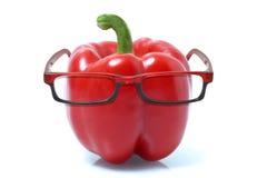 Καψικό που φορά τα γυαλιά στοκ εικόνα