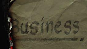 """Καψτε το κείμενο επιχειρήσεων της λέξης των """"στο παλαιό έγγραφο φιλμ μικρού μήκους"""