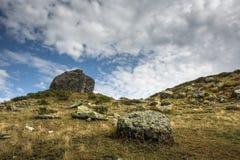 Καύκασος Βουνά και ουρανός Στοκ Φωτογραφία