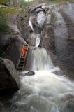 Καύκασος πέφτει βουνά Στοκ εικόνα με δικαίωμα ελεύθερης χρήσης