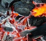 Καύση άνθρακα Στοκ Φωτογραφία