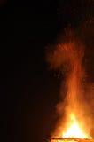 Καύση της πυρκαγιάς Στοκ εικόνες με δικαίωμα ελεύθερης χρήσης