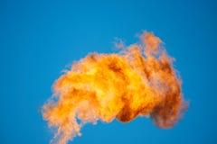 Καύση του σχετικού αερίου πετρελαίου Στοκ εικόνα με δικαίωμα ελεύθερης χρήσης