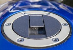 Καύσιμα ΚΑΠ στη μοτοσικλέτα Στοκ εικόνα με δικαίωμα ελεύθερης χρήσης