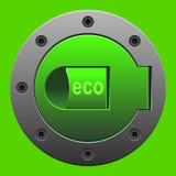 καύσιμα eco Στοκ Εικόνες