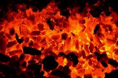 Καύσιμο ανθρακιτικό μέσο μέρος άνθρακα στοκ φωτογραφία με δικαίωμα ελεύθερης χρήσης