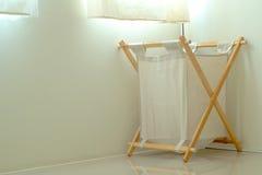 Καλάθια του υφάσματος που τοποθετούνται στο σπίτι Στοκ φωτογραφία με δικαίωμα ελεύθερης χρήσης