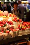 Καλάθια των φραουλών και των δασικών φρούτων Στοκ φωτογραφία με δικαίωμα ελεύθερης χρήσης