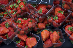 Καλάθια των φραουλών Στοκ Φωτογραφίες
