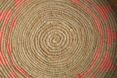Καλάθι ινδικού καλάμου Στοκ φωτογραφία με δικαίωμα ελεύθερης χρήσης