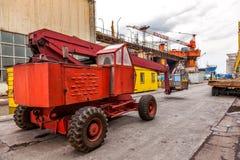 Καλάθι κινητών γερανών Στοκ Εικόνες