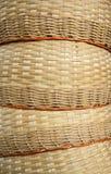Καλάθι μπαμπού Στοκ φωτογραφία με δικαίωμα ελεύθερης χρήσης