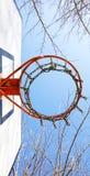 Καλάθι της καλαθοσφαίρισης Στοκ Εικόνες