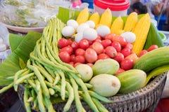 Καλάθι του λαχανικού Στοκ Εικόνα