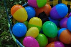 Καλάθι των αυγών Στοκ Φωτογραφία