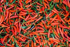 Καλάθι των βιετναμέζικων πιπεριών Στοκ Εικόνες