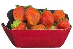 Καλάθι φραουλών Στοκ εικόνα με δικαίωμα ελεύθερης χρήσης