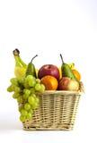 Καλάθι φρούτων Στοκ Φωτογραφίες